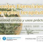 Curso Aceites Esenciales y su empleo terapéutico - Seguridad clínica y usos prácticos